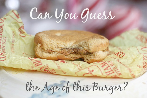 Try and Guess the Age of this Hamburger. It's Crazy!