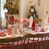 $5 Candy Cane Tablescape for the Kids