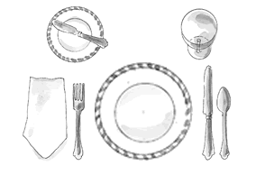how to set a table How to Set a Beautiful Table