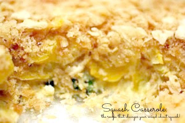 Recipes to Use up Squash – Squash Casserole