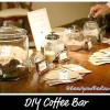 Creative Party Ideas: DIY Coffee Bar