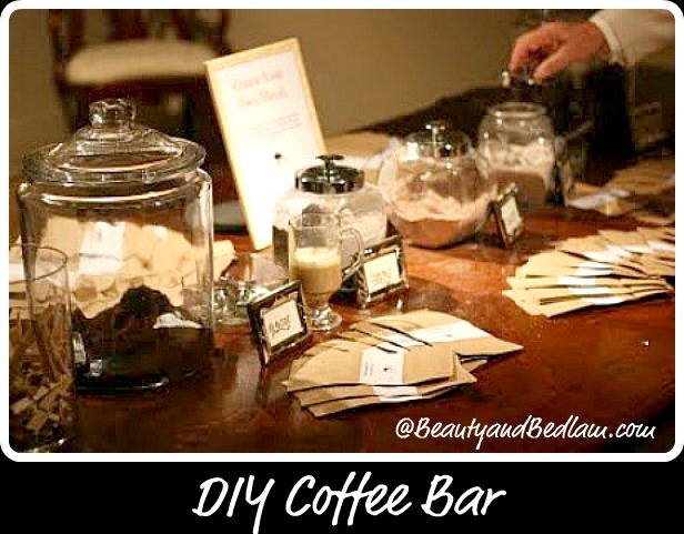 Diy Coffee Bar Balancing Beauty And Bedlam