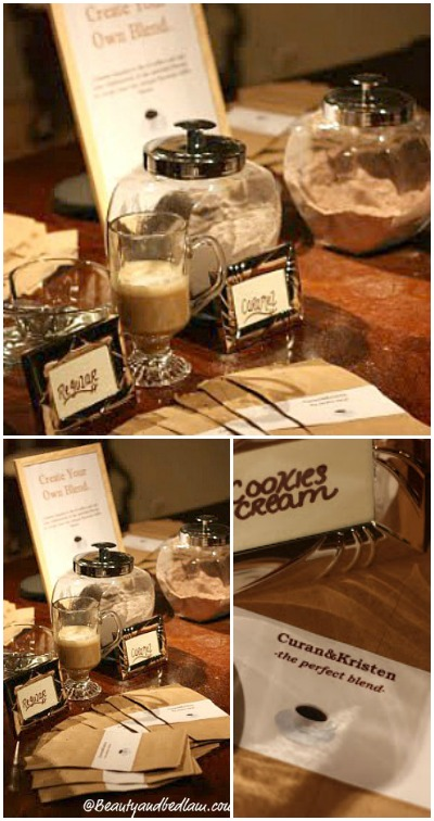 Make Your Own Coffee Bar Great for parties and weddings