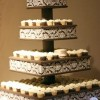 Gorgeous DIY Cupcake Stand: Wedding Cupcake Stand