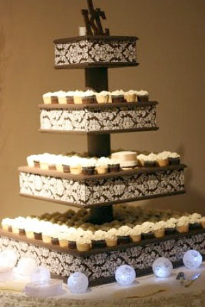 Diy cupcake stand wedding cupcake stand capturing solutioingenieria Choice Image