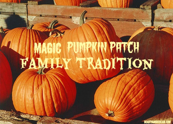 Magic Pumpkin Patch Tradition