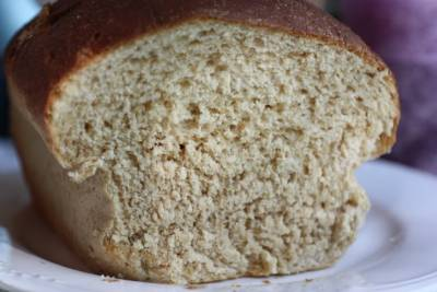 Whole Wheat Bread using Evaporated Milk