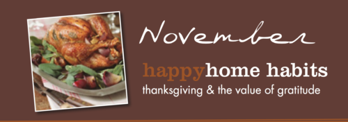 Happy Home Habits value of gratitude