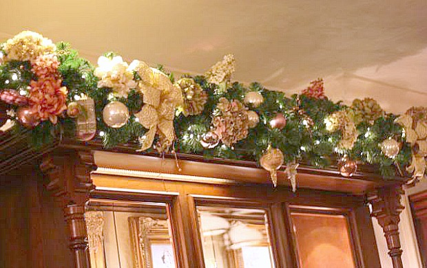 Garland Decoration For Christmas Tree Decorating Christmas Garland