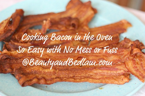 How Do I Cook Bacon in the Oven? (Cooking Bacon in Bulk)