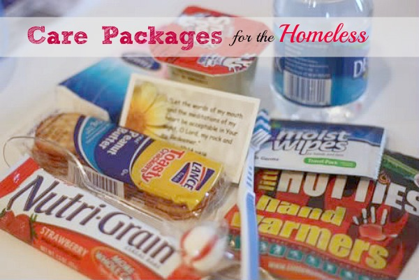Care Packages for the Homeless: Way to Help the Homeless
