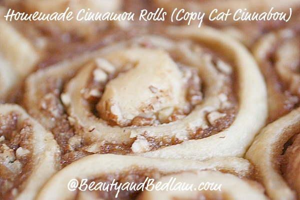 Homemade Cinnamon Rolls (Copy Cat Cinnabon Recipe)
