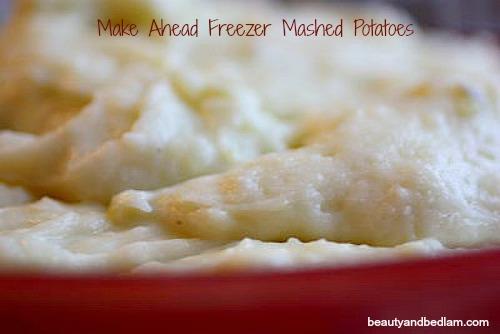 Make Ahead Mashed Potatoes – Freezer Mashed Potatoes