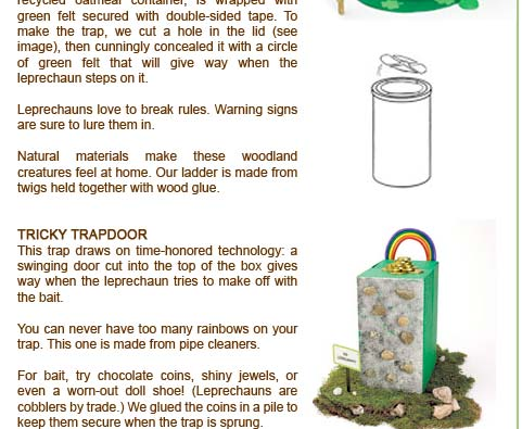 st patricks day lucky trap