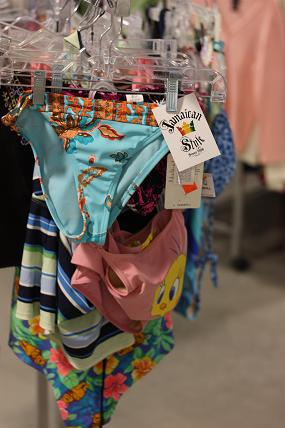 bathing suits at Goodwill
