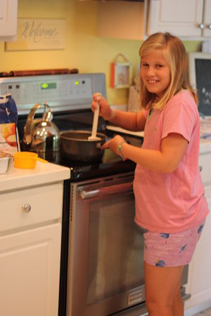 cooking with kids opt When Did you Learn to Cook?