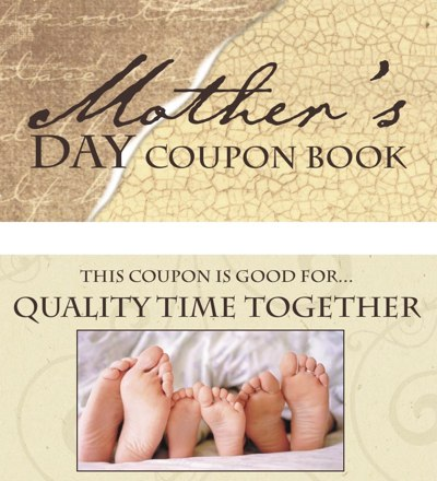 Free Mother's Day Coupon book, Free Mother's Day Printable Coupon ...