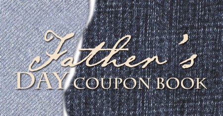 FathersDayCouponBook cover Free Fathers Day Coupon Book
