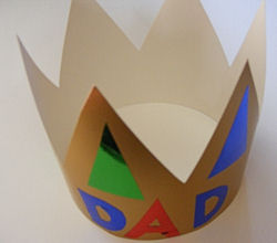 Father's Day Ideas – King for the Day