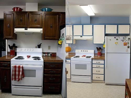 5 low cost ways to add value to your home - Cost to paint kitchen cabinets ...