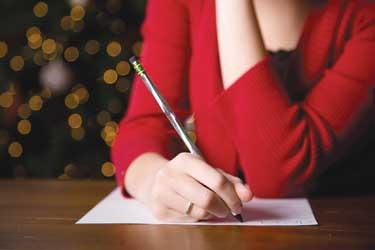 writing lettter