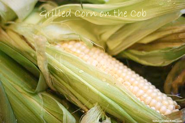 Grilled corn on the cob @beautyandbedlam