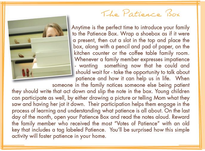 patience box