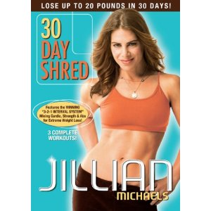 Join me on the 30 Day Shred & Giveaway