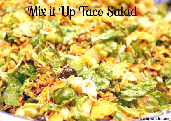 Taco salad great meal for large groups whenever forumfinder Images