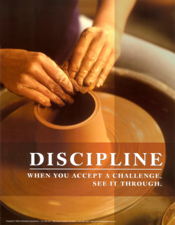 1/3 of the Way to a New You – Discipline (ugh)