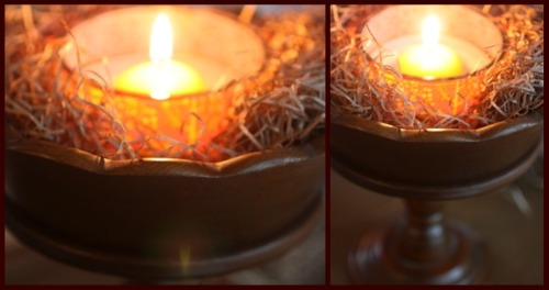 candle light collage