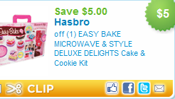 easy bake cake and cookie set
