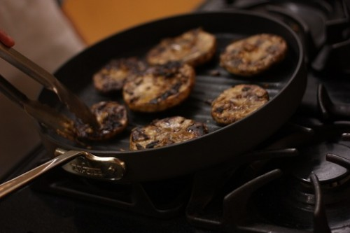 marinated portabella mushrooms