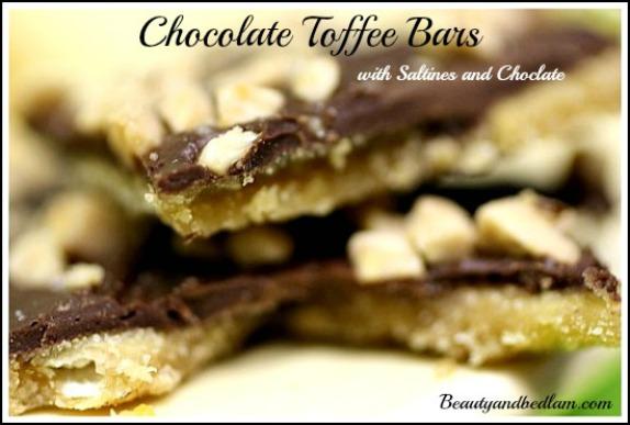 Saltine cracker toffee cookie recipe