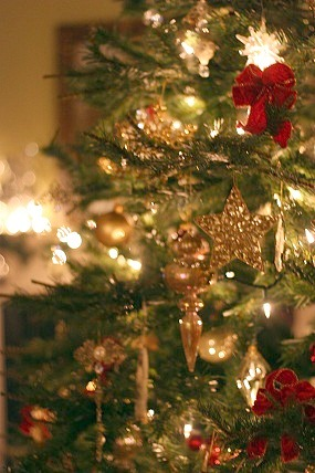 Fancy christmas tree