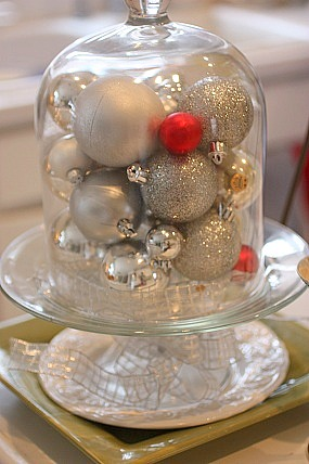 cloche for Christmas