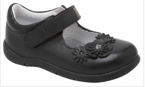 stride right black girls shoes