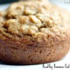 Healthy, Banana Oatmeal Muffins