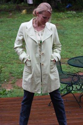 trench coat core wardrobe