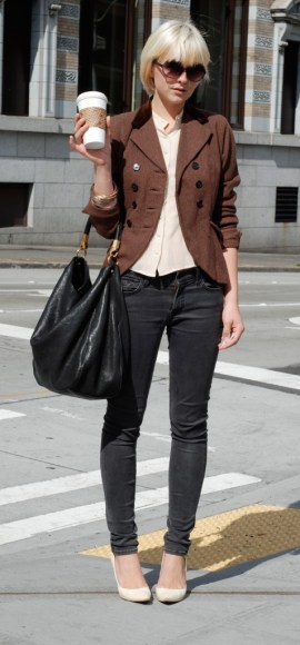 Can You Wear Black with Brown? Frugal Fashionista