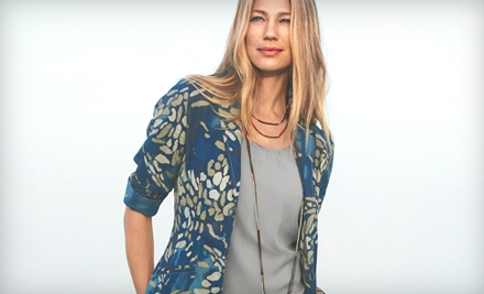 ColdWater Creek – $50 Worth of Apparel for only $25 (Today Only