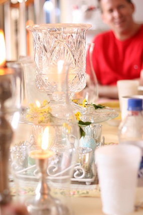 easter table decor What are your Easter Meal Ideas?