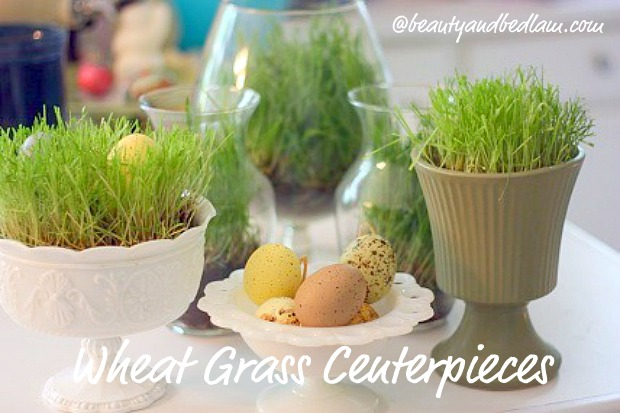 Ever So Fun & Inexpensive Table Centerpieces (perfect for Easter)
