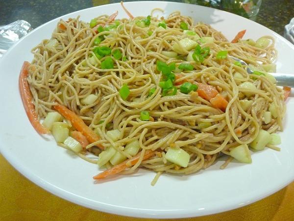 Peanut Butter Noodles, Peanut Butter & Jelly Noodle Salad