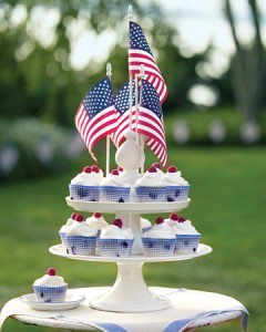 cupcakes flags