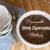 Homemade Mint Chocolate Pudding