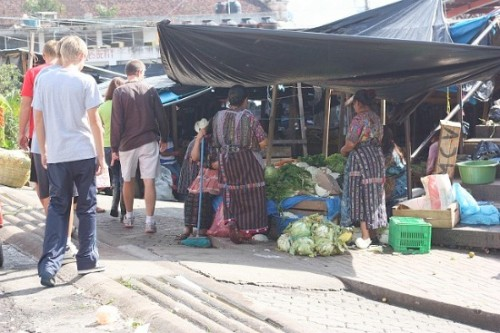 guatemala market 500x333 No Spend/Pantry Challenge Continues: Straight from Guatemala