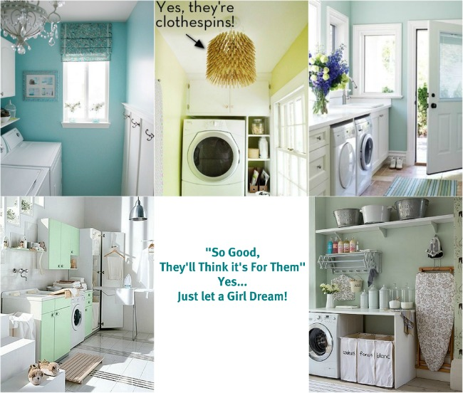 Laundry room decorating ideas dream laundry rooms for Decorate a laundry room