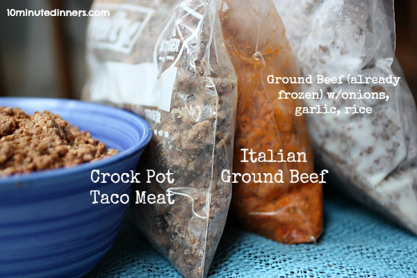 cooking ground beef in crock pot