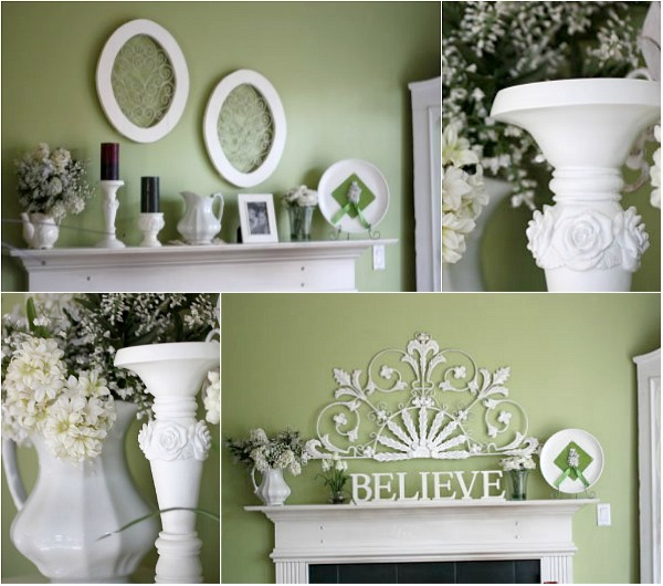 5 minutes 5 mantel decor redo balancing beauty and bedlam